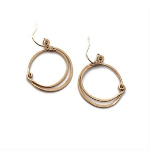 Gold Fill Hoop Earrings