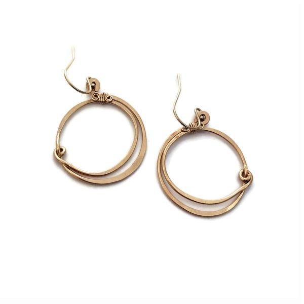 Gold Fill Hoop Earrings