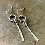 Sterling Silver Stix Earrings